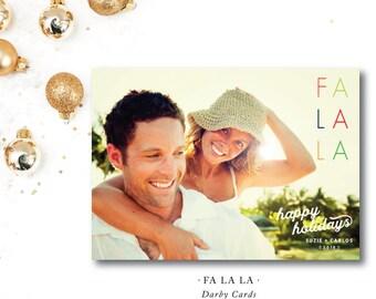 FA LA LA Holiday Cards