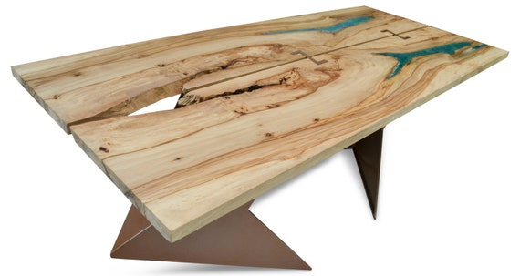 Resin inlaid dining or conference table on by  : il570xN1060763715dqt6 from www.etsy.com size 570 x 303 jpeg 29kB