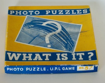 Vintage Photo Puzzle Game
