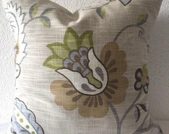 Single Pillow Cover 18x18 inch - P/Kaufmann Home Decor Fabric