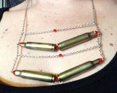 Confirmed Kills Bullet Casing Statement Necklace 9