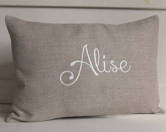 Personalized pillow, Baby Name pillow, personalized gift, baby shower, baby gift, Kids pillows, Girls pillow