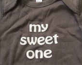 phish phan art my sweet one baby gift onsie onesie 12mo RESERVED for L.Gluck