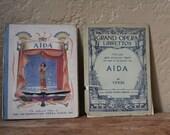 Storybook & Sheet Music - Aida