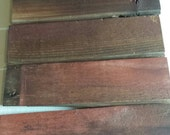 Reclaimed Vintage Barnwood Craft Pack 6 1x3.5x12 Pieces Reclaimed Wood For Signs