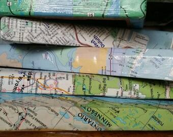 5x7 Apostle Islands | Madeline Island | Bayfield | Ashland | Lake Superior | Map Picture Frame