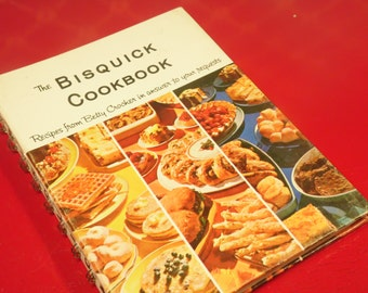 Betty Crocker The Bisquick Cookbook Vintage 1960s
