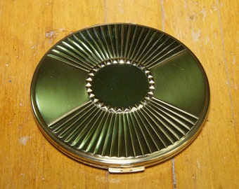Vintage  Max Factor Gold Compact