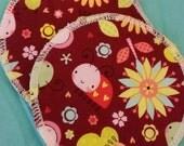 2 reusable cotton nursing pads for bra A B C D DD nursing breastfeeding - a bugs life baby burst