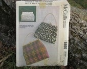 Vintage Purse Pattern McCalls Vintage Bag Pattern