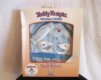 Vintage Teddy Ruxpin Outfit Work Out Outfit 1985
