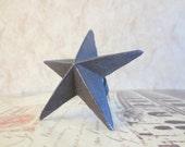 Wine Bottle Stopper - Rustic Iron Lone Star Star Wine Stopper