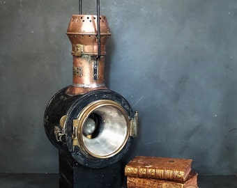 Antique French carriage Lamp ,lantern ,carriage light, outdoor indoor lighting  .