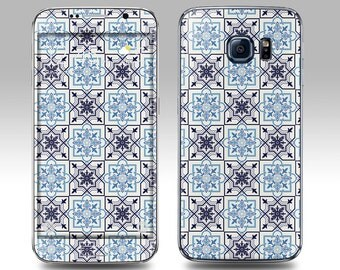 MOROCCAN TILE Galaxy Decal Galaxy Skin Galaxy Cover Galaxy S6 Skin, Galaxy S6 Edge Decal Galaxy Note Skin Galaxy Note Decal Cover