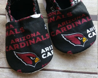 Arizona Cardinals Cloth Baby Booties