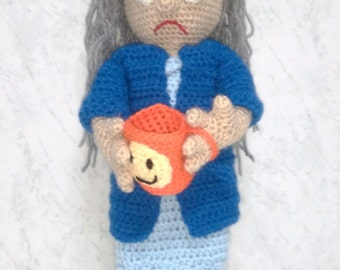 Juanita, amigurumi. Perfect doll for children or adults. Crochet