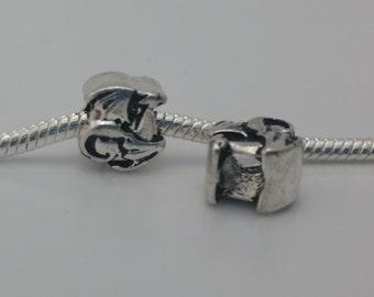 3 Beads - Dragon Silver European Bead Charm Limited Edition E1506