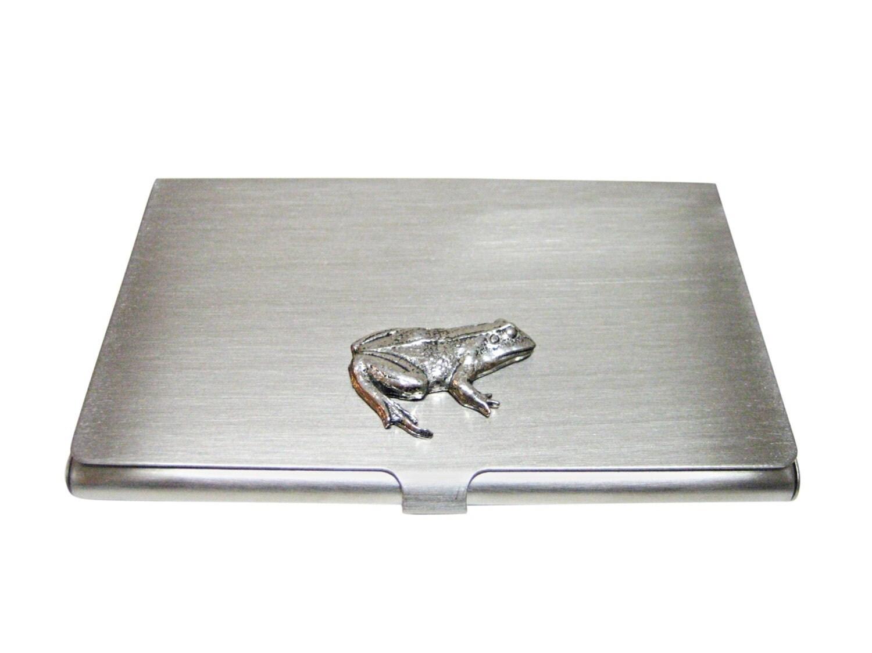 Frog Business Card Holder