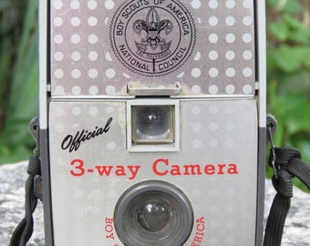Boy Scouts National Council Official 3-way Camera