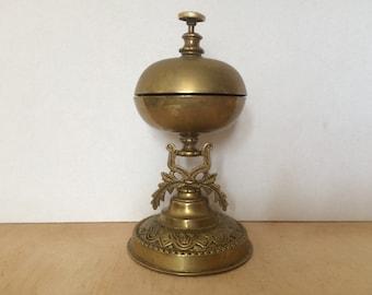 Antique Hotel Desk Bell, Reception Bell, Service Bell