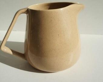 Vintage Bauer Pottery Speckleware Pitcher Mid Century Modern California