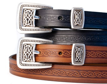 Meabh 3/4 inch Ladies Celtic Belt