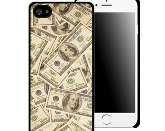 Hundred Dollar Bills Printed Cell Phone Case