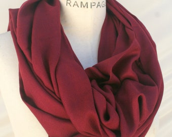 Best selling shops item, red pashmina Infinity Scarf, Most sold Items, Pashmina soft Scarf, Unique scarves, womens Gift for Mom - By PiYOYO