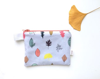 Leaves Divided Coin Purse (handmade philosophy's pattern)