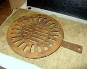 Pot bellied wood stove grate