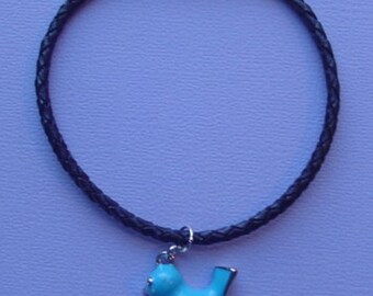 "8"" Bird Charm Bracelet"
