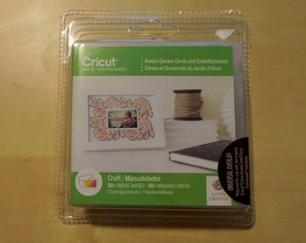 Cricut Cartridge Anna's Garden Cards and Envelopes All Occasion New SEALED