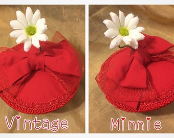 Vintage Minnie Daisy Hat