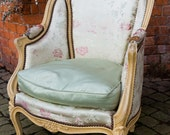19th c French Salon Chair, Bedroom Chair, Drawing Room Chair, Antique