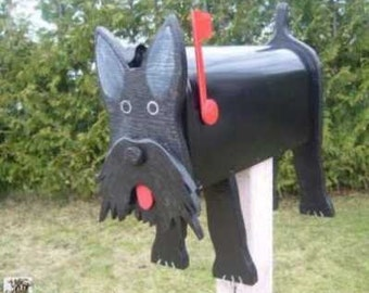 Dog mailboxes - Scottish Terrier mailbox