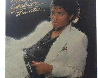 Michael Jackson Thriller Record Album