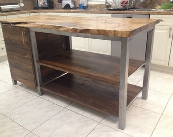 Kitchen Island - Metal