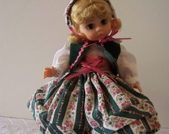 Gretel with custom stand 8 inch doll