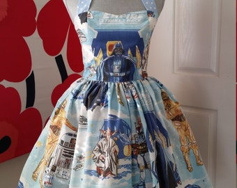 Custom Made to Order Star wars Sweet Heart Dress Sz Small US6 to Large US14