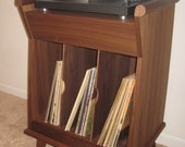 Mid century styled record console