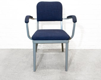Set of Two Cole Steel Tanker Armchairs. c. 1955