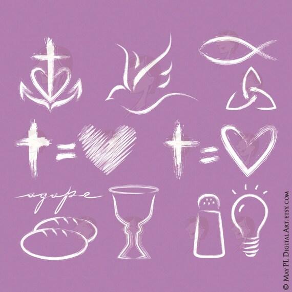 Christian hope clip art cliparts for Salt and light tattoo