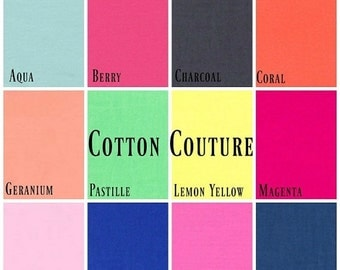 ON SALE Michael Miller - 4 FAT Quarter Bundle Cotton Couture (Pick your own colours)