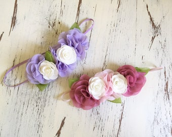 Baby Girl Headband- Matilda Jane Headband- Baby Headbands- Flower Girl Headband- Girls Headbands- Toddler Headband