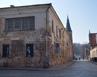 Photography of Kaunas,town architecture