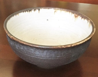 Handmade pottery bowl from the Pacific NW.