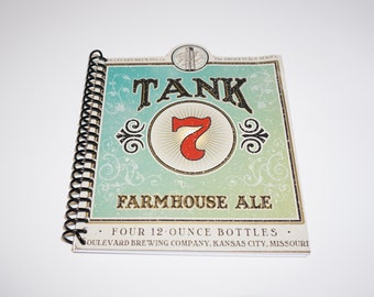 Limited Edition - Boulevard Brewing Tank 7 Notebook - Upcycled