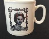 Mug Queen Elizabeth England Silver Jubilee Commemoration 1977