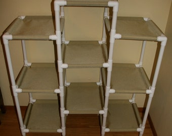 NEW The A-Frame Cat Condo, 9 Layers -  Heavy Duty Cordura Fabric - Choice of Colors