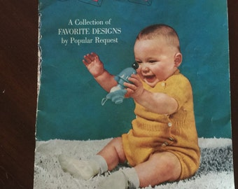 Vintage Knit and Crochet Baby Book